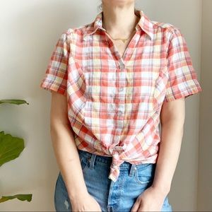 Tops - Claire France Button Down Shirt Size 1X